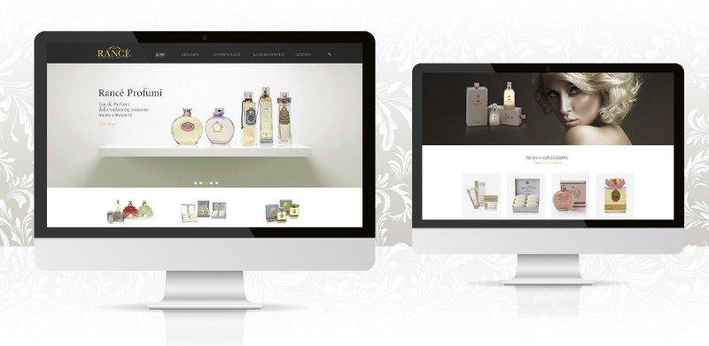 creazione siti web profumi