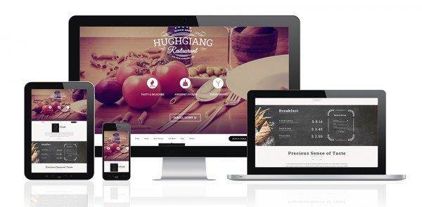 Creazione siti web ristorante