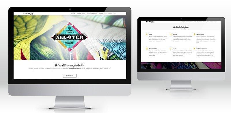 creazione siti web Allover
