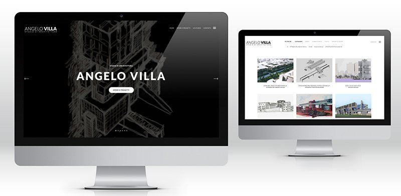 creazione siti web architetto
