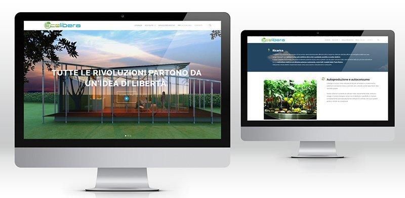 creazione siti web Ecolibera
