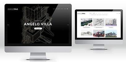 Creazione siti web, logo, grafica, marketing architetto sito