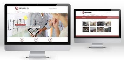 Creazione siti web, logo, grafica, marketing ditta costruzioni sito