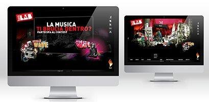 Creazione siti web, logo, grafica, marketing Burn sito