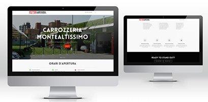 Creazione siti web, logo, grafica, marketing carrozzeria sito