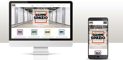 Creazione siti web, logo, grafica, marketing magazziono sito