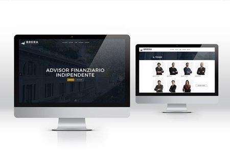 Brera Advisory sito web