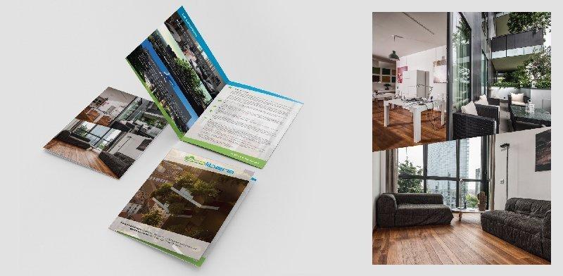 Creazione siti web, logo, grafica, marketing brochure bosco verticale