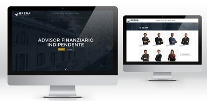 Creazione siti web Brera financial advisory