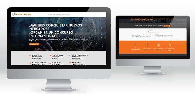 Creazione sito web wordpress agenzia di concorsi