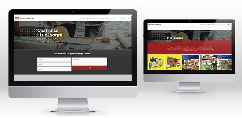 Creazione sito web wordpress ditta edile