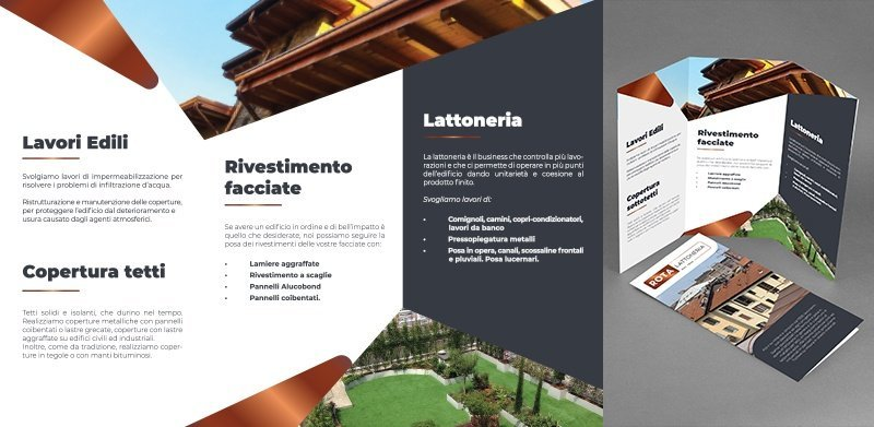 creazione Brochure aziendale Rota