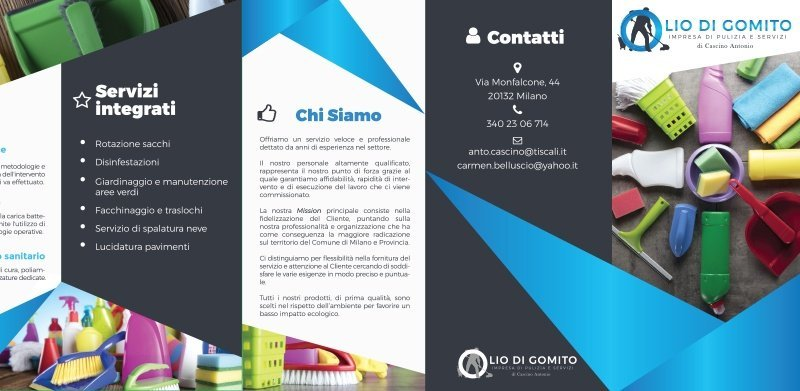 sviluppo brochure Olio di gomito