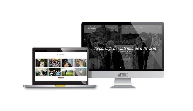 Creazione Siti web wordpress fotografo matrimoni