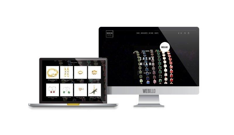 Creazione sito e-commerce gioielli