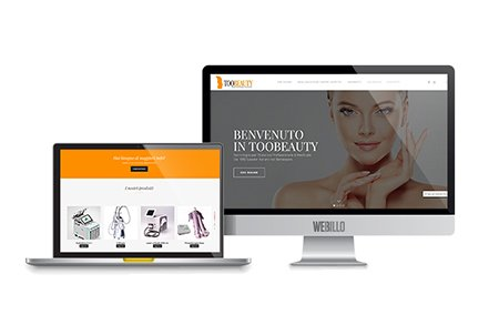 Toobeauty sito e-commerce