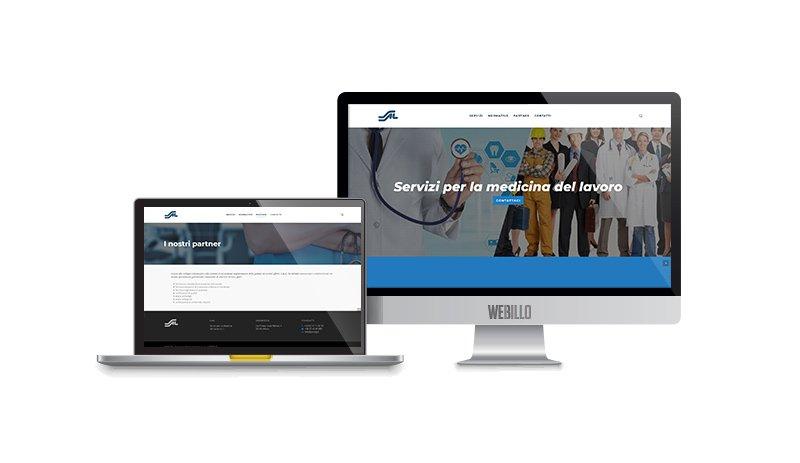 Creazione Siti web wordpress Servizi per la medicina del lavoro