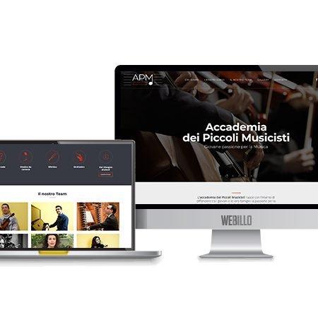 Accademia musicale Sito web